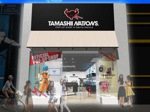 Bandai's Tamashii Nations Opens Pop-Up Store in Santa Monica on Friday