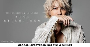 Musician HYDE Holds 20th Anniversary Global Livestream Concert