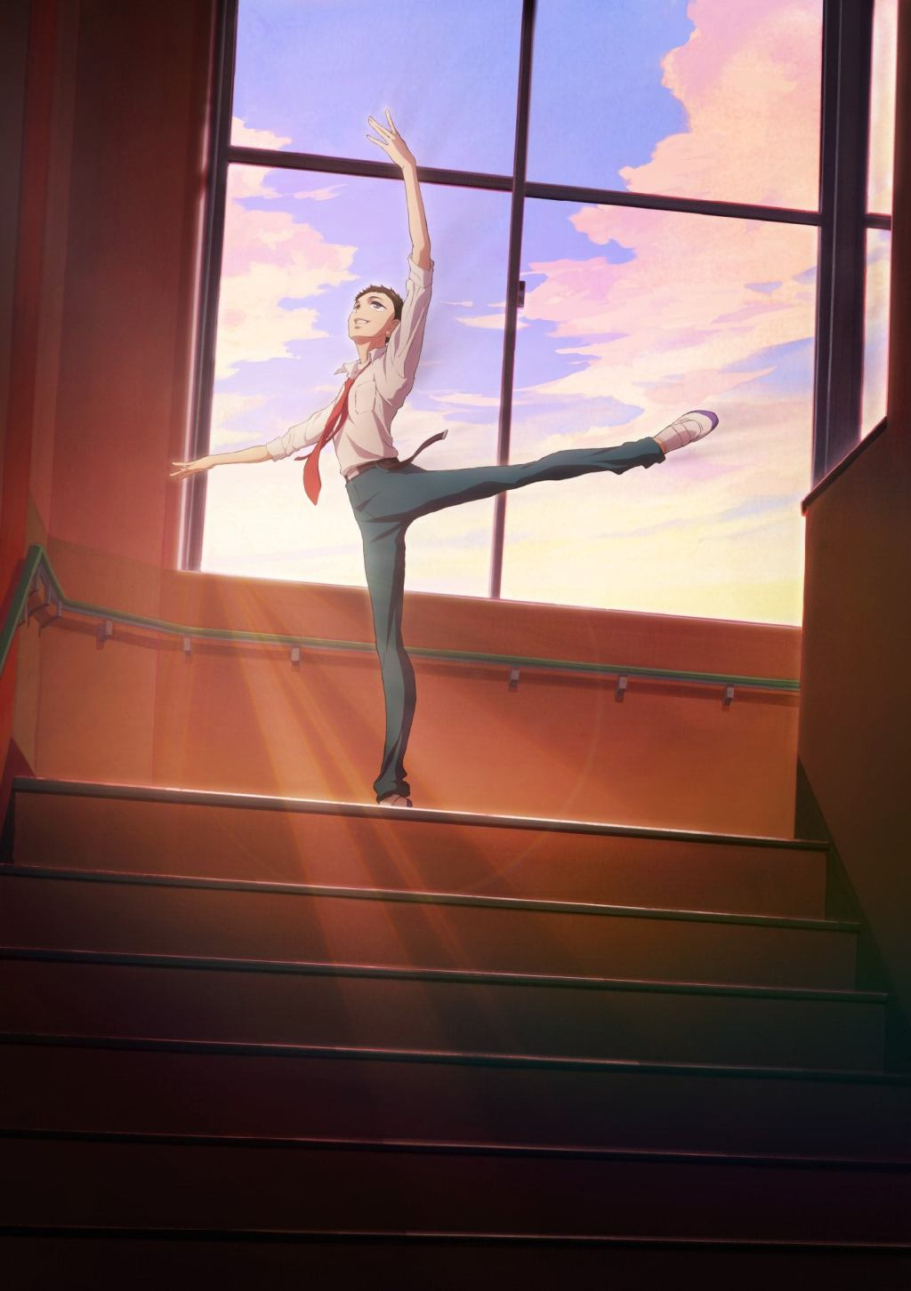 """""""Dance Dance Danseur"""" - Teaser Visual! The anime is set for 2022. Animation Production: MAPPA"""