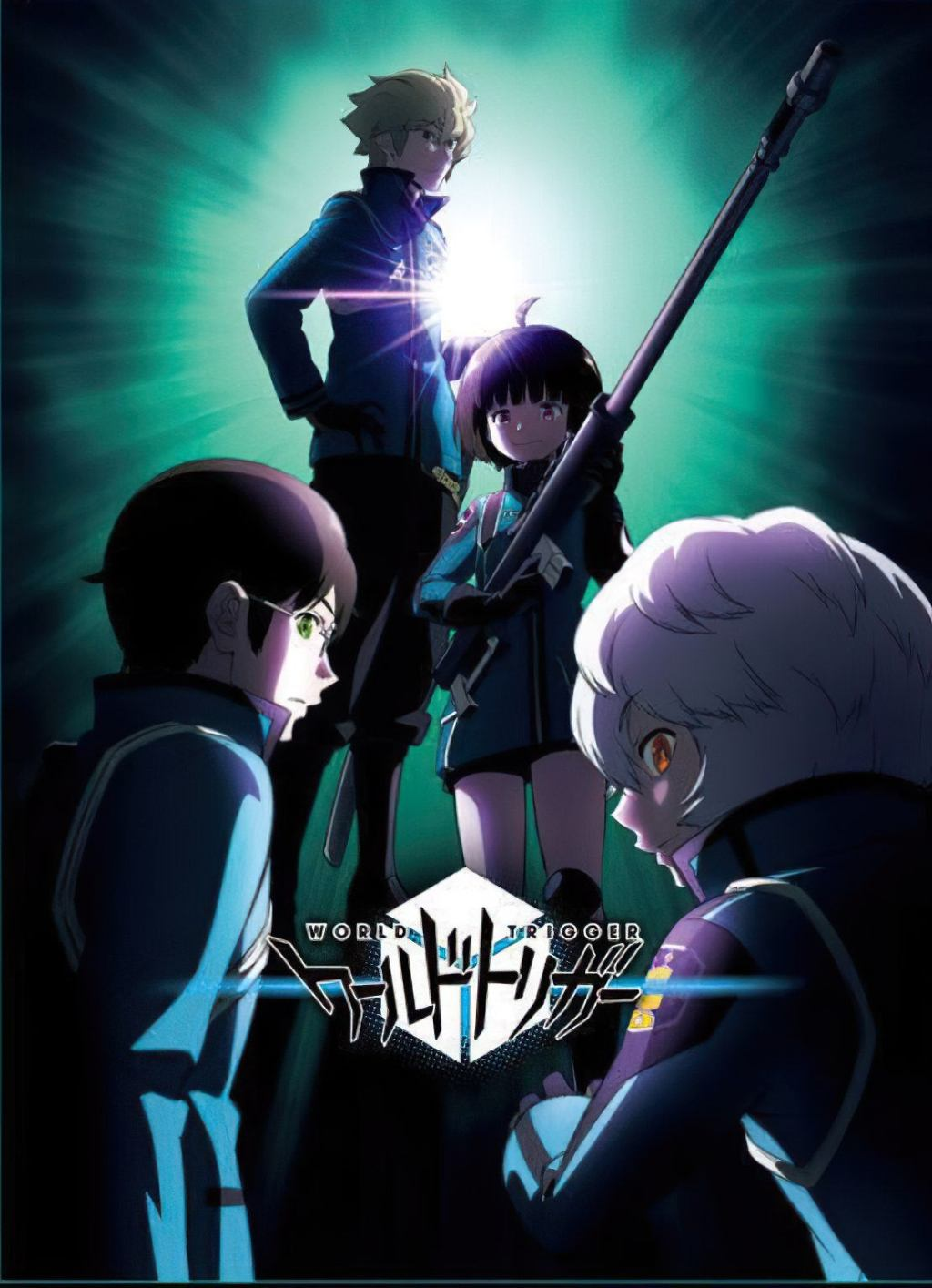 New Key Visual for World Trigger Season 3 TV Anime Revealed. The anime will premiere on October 9, 2021.