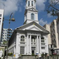 Church of the Sacred Heart caters to Singapore's Chinese Catholics