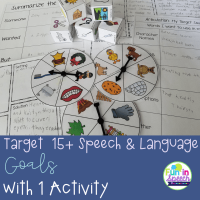 How to Target 15+ Different Speech-Language Therapy Goals with ONE Engaging Activity!
