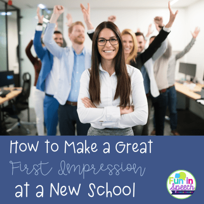 How to Make a Great First Impression at a New School