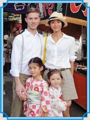 クリスウェブ佳子 家族