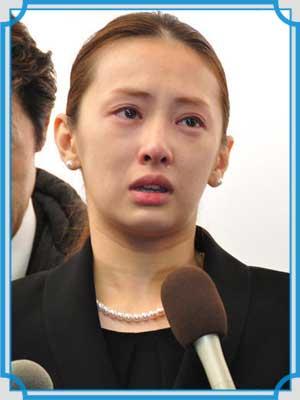 北川景子 泣き顔