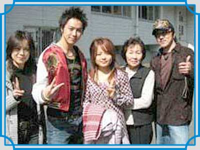 TAKAHIRO 家族写真