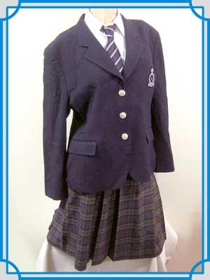 日本女子体育大学付属二階堂高校 制服