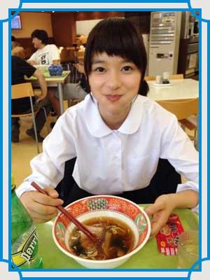 芳根京子 食べ方