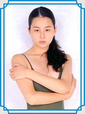 米倉涼子 デビュー写真