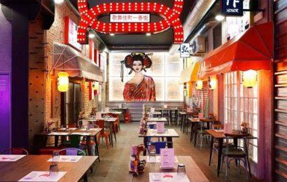 Comida nipona 'callejera' en Barcelona en el «Oishii Ramen Street»