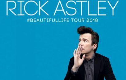Rick Astley en concierto en Barcelona