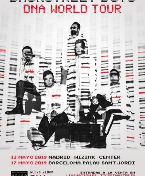 Backstreet Boys visitarán en concierto Barcelona