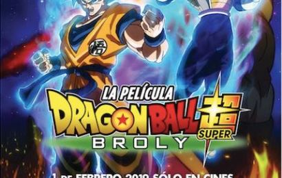 Estreno de DRAGON BALL SUPER: BROLY