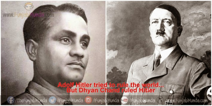 Dhyan Chand And Adolf Hitler