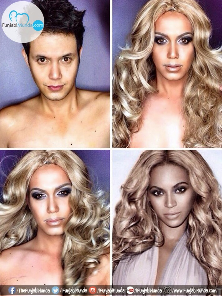 Paolo Ballesteros — Celebrity Makeup Transformation