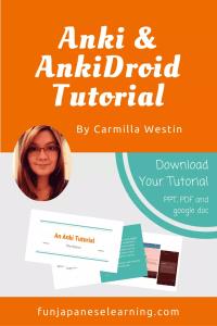 An Anki and Ankidroid Tutorial by Carmilla