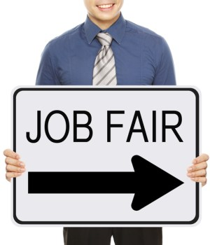 how to succeed at a job fair