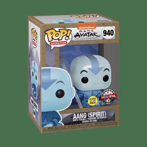 funko pop animation avatar aang spirit box glam