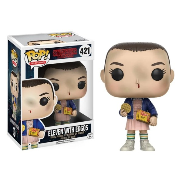 funko pop television stranger things eleven with eggos