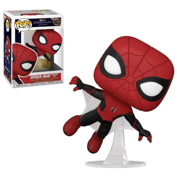 funko pop marvel spiderman no way home Spiderman Upgraded Suit