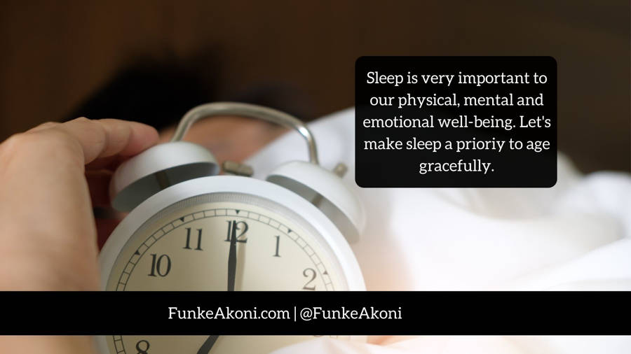 Do you want to function well? Make sleep a priority!