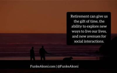 Let's talk about retirement