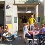 Kleines Kunstcafé in Berlin Kreuzberg