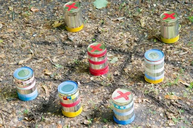 Spielideen für die Gartenparty