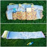 Nachgenäht – Strandmatte aus alten Handtüchern