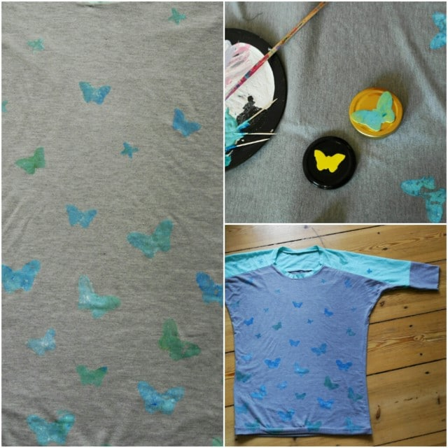 Shirt mit Schmetterlingen bedrucken