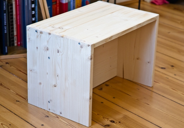 DIY Berliner Hocker
