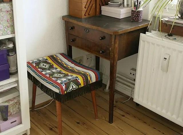 Stühle Beziehen hocker neu beziehen in nur 5 minuten anleitungen do it yourself