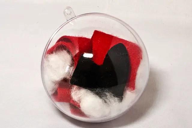 DIY - Spiel für Weihnachten - Weihnachtsmannkostüm