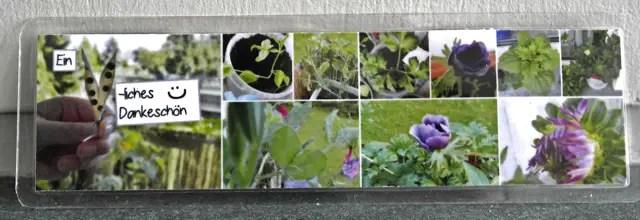 Lesezeichen Blumenwichteln 2013