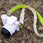 DIY – Ein kunterbunter Kameragurt