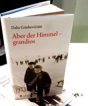 Leipziger Buchmesse 2014 - Buch - Aber der Himmel grandios