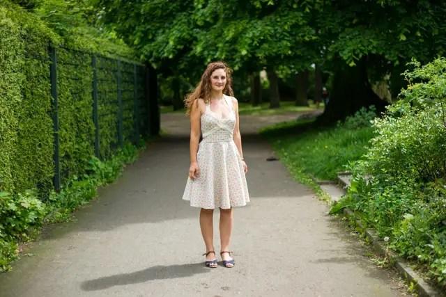 DIY - Genähtes Sommerkleid im 50er Jahre Stil nach Burda Style