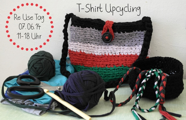 T-Shirt Upcycling Re Use Tage Berline