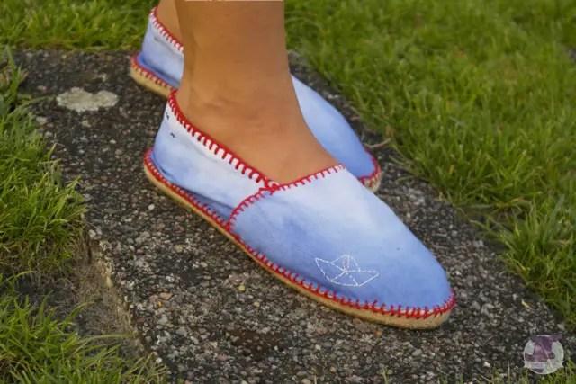 DIY Espandrilles - Schuhe selber machen