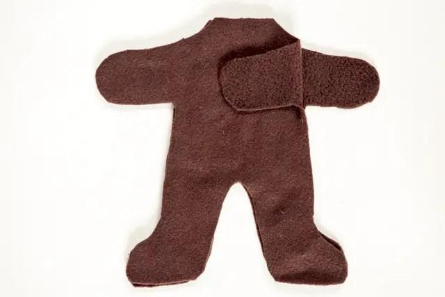 Teddybär nähen - Körper für Teddybär nähen