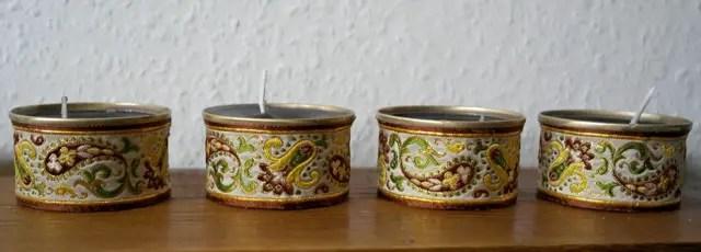 Upcycling - Kerzen neu giessen aus Kerzenresten und Dosen