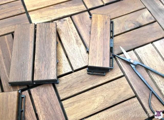der balkon wird sommersch n holzfliesen verschiedenes bodenflie en verlegen holzfliesen. Black Bedroom Furniture Sets. Home Design Ideas