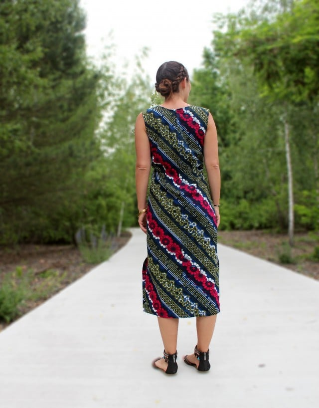 Schnittmuster für langes Kleid für Anfänger