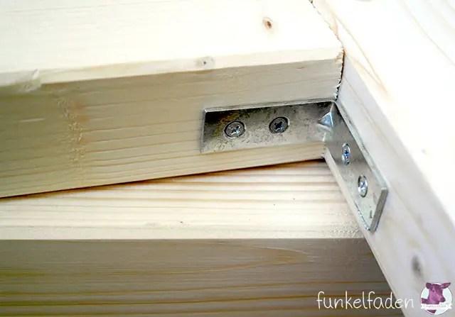 Bett aus Holz bauen für Anfänger