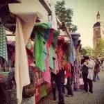 Zu Besuch auf dem Stoffmarkt Holland in Spandau
