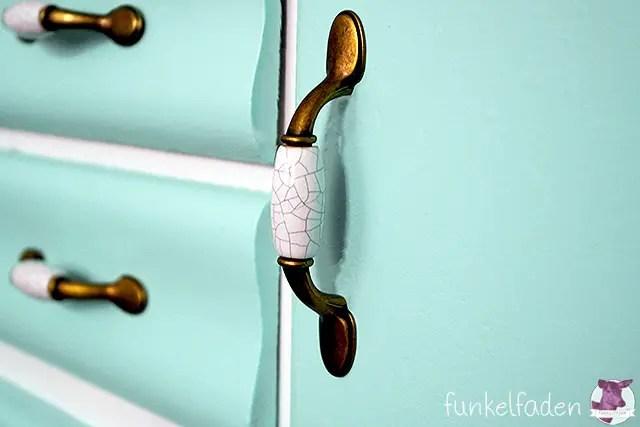 Vintage Schrankgriffe für Küchenschrank