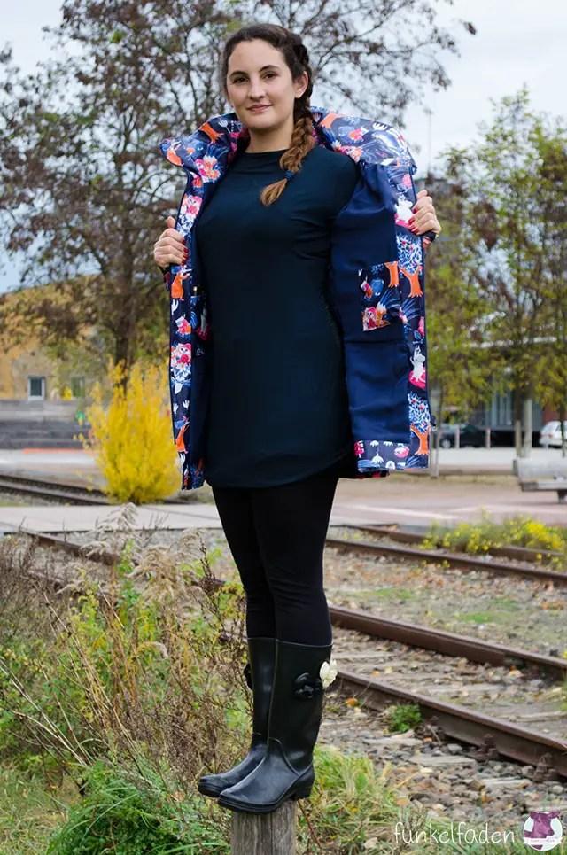 Minoru Jacket als Regenjacke mit Kapuze