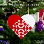 DIY – Dänische Weihnachtsherzen weben