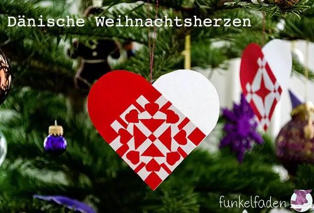 Dänische Weihnachtsherzen