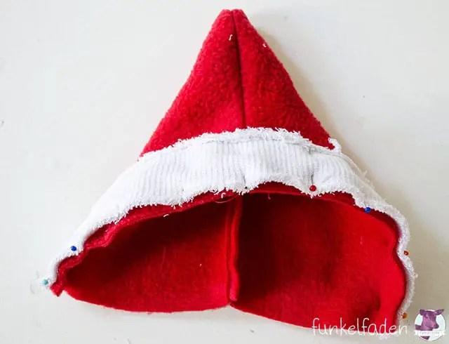 Gratis Schnittmuster Weihnachtsmannmantel nähen